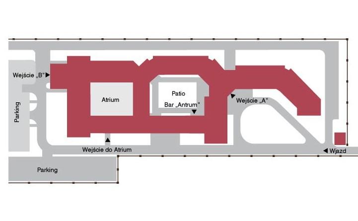 mapa Światowego Centrum Słuchu