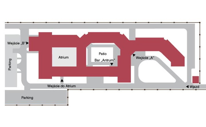 map of World Hearing Center